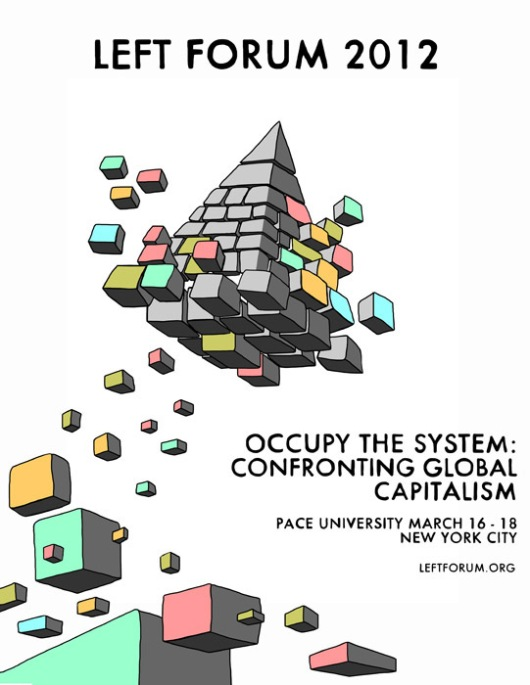 Left Forum 2012 poster