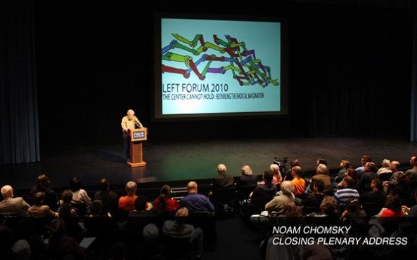 Noam Chomsky at Left Forum 2010