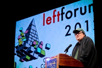 Michael Moore at Left Forum 2012