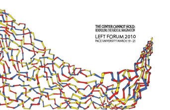 Left Forum 2010 poster